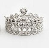 anillo para una reina o una princesa,corona tiara