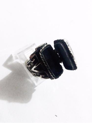 anillo pastillero guardapelo ajustable plata solida ley.925