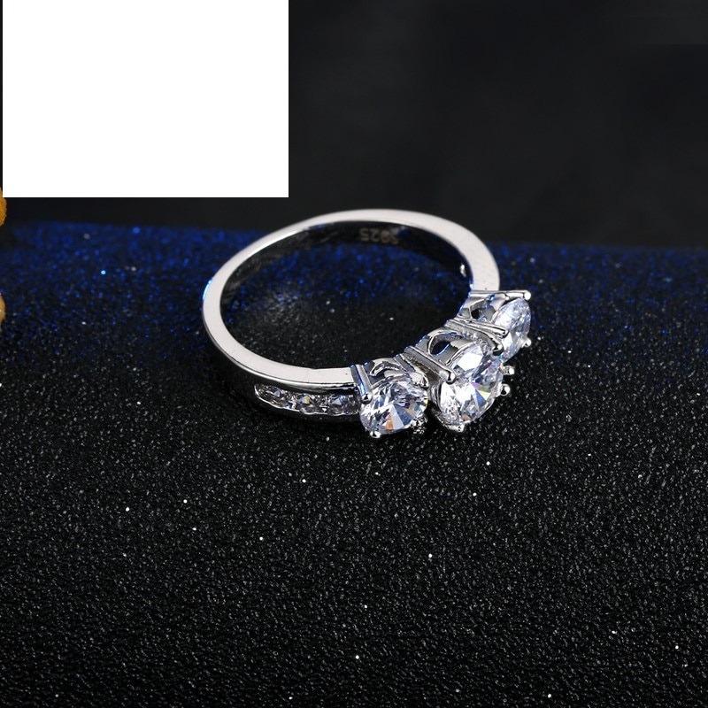 e33828fcbe77 anillo plata 925 cristales blancos regalo dia de madres msi. Cargando zoom.