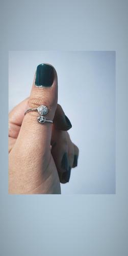anillo plata 925 ley ajustable