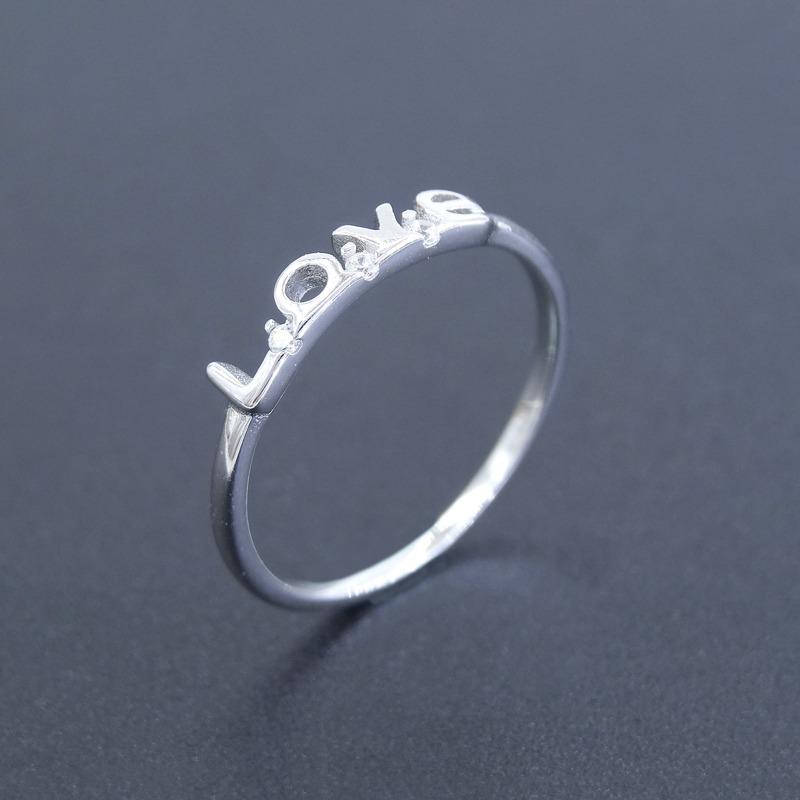 636655d8e9d2 anillo plata 925 love enamorados precio x mayor x local. Cargando zoom.