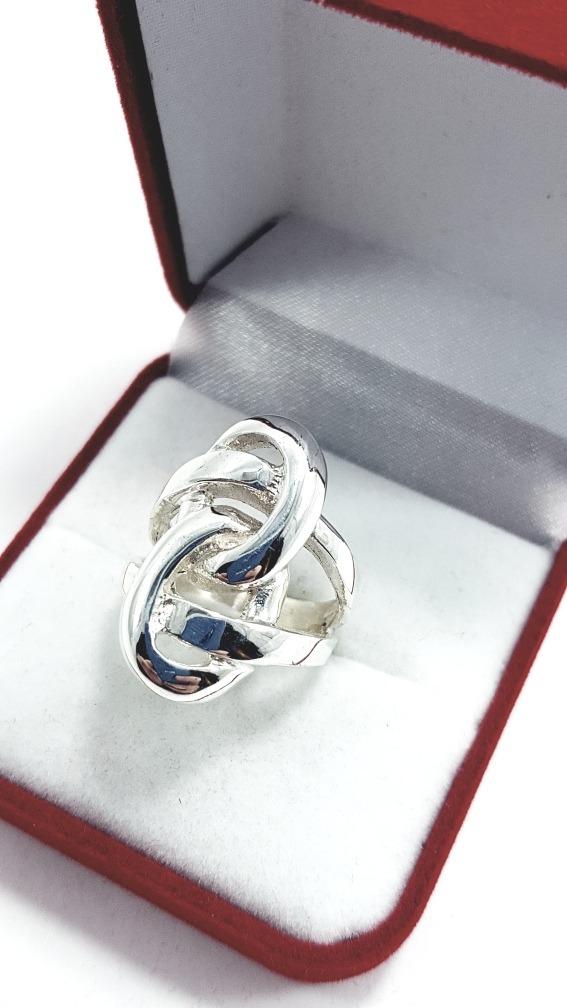 212caa2de46a anillo plata 925 modelo cadena eslabom pesado moderno. Cargando zoom.