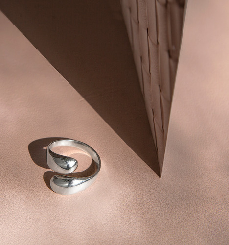 anillo * plata 925 * tuna * dos gotas * envío gratis