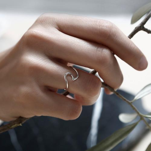 anillo * plata 925 * tuna jewel * ola * envío gratis