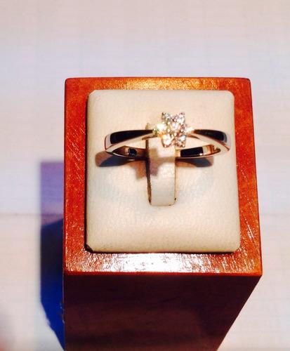 anillo plata circones