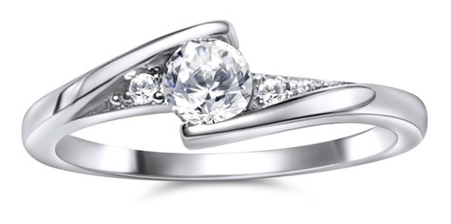 anillo plata compromiso amor amor / arany joyas