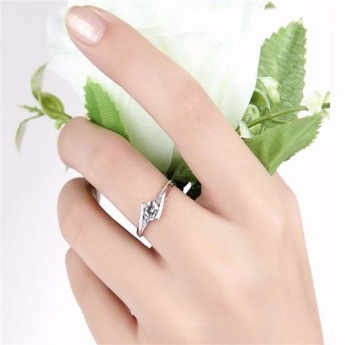 anillo plata compromiso,tallas17-22/envío gratis joya