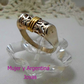 befaf6fed9d9 Anillo Plata Bombe Hueco - Anillos en Mercado Libre Argentina