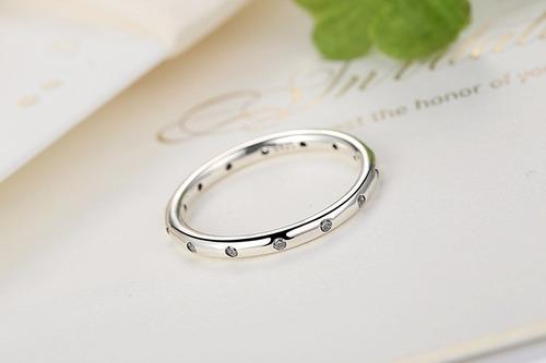 anillo plata estilo pandora, tallas 12-15/joya envío gratis