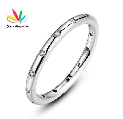 anillo plata estilo pandora, tallas 15-17 /joya envío gratis
