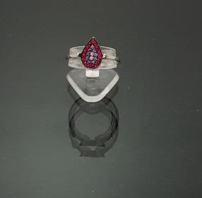 3d4f596e5433 Anillo Piedra Forma De Gota en Mercado Libre México