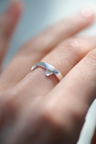 anillo plata gato para lola talla ajustable /envío gratis