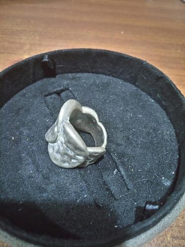 anillo plata inflada rebajado