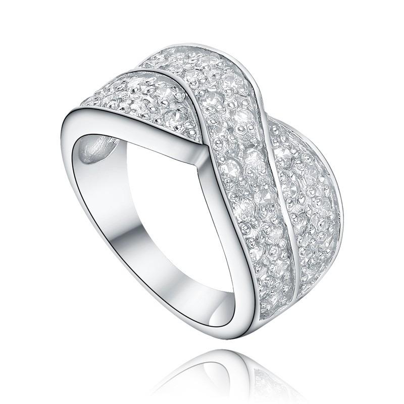 c68183dc3de3 anillo plata italiana 925 elegante - joyas mujer regalo. Cargando zoom.