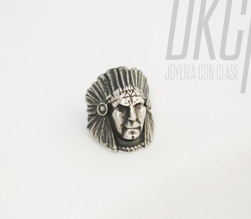 anillo plata joyería
