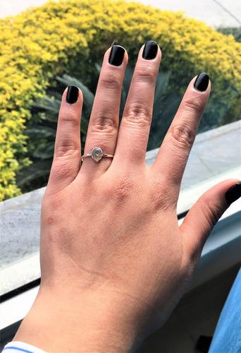 anillo plata opalo