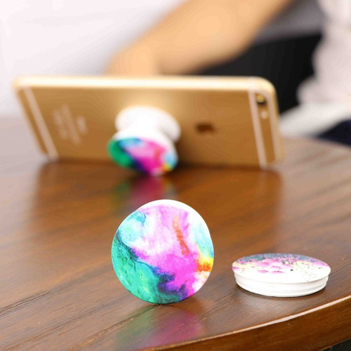 anillo pop holder agarre p/ celular tablets diseño musically