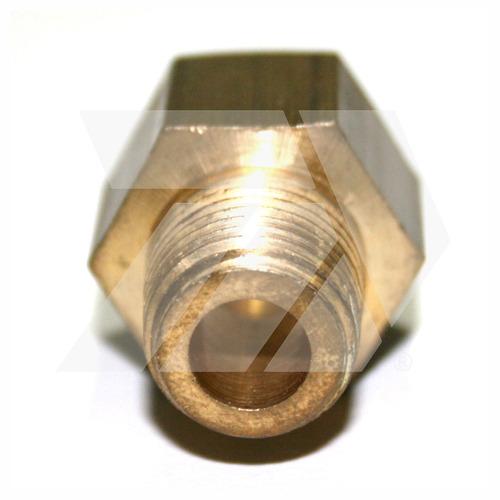 anillo reducido 3/8  f.npt x 1/4  mnpt  conexión de bronce