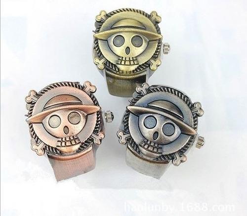 anillo reloj craneo calavera pirata one piece venta