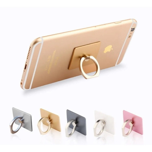 anillo ring soporte celular giratorio 360 iphone samsung