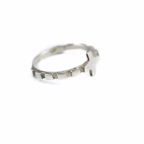 anillo rosario plata ley .925