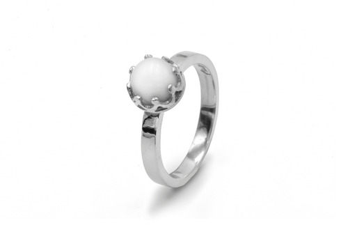 anillo rosie  leche materna - joyas cindy kleist
