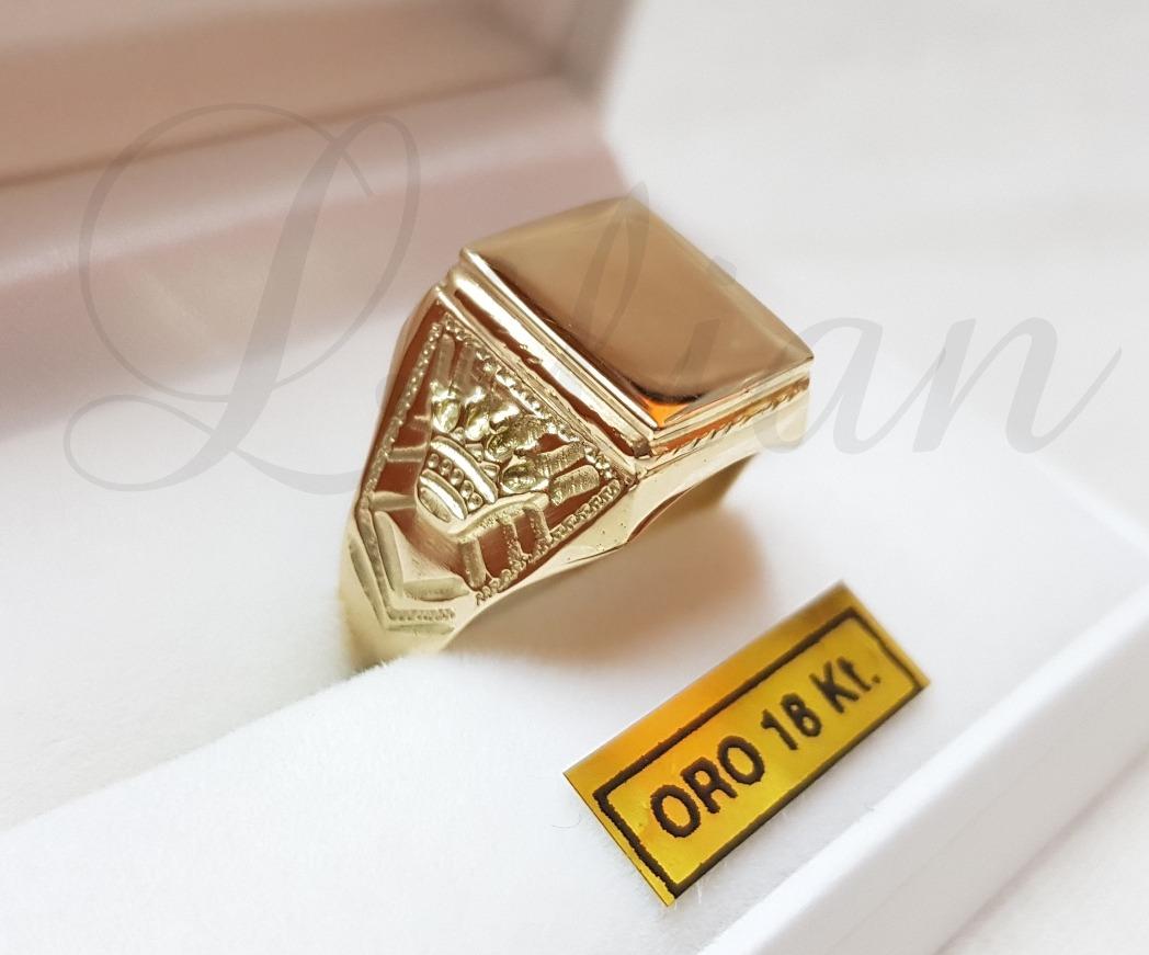 6dd313bd1ba7 anillo sello hombre oro 18k coronas grabado sin cargo. Cargando zoom.