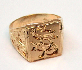 229e0e19fc8a Anillo Oro Macizo Sello Hombre - Anillos de Oro en Mercado Libre ...
