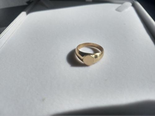 anillo sello oro 2gr nro 12