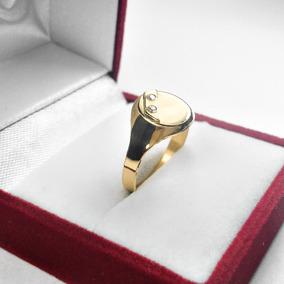 52e12f449918 Anillo Sello Oro 18k Ovalado Para Hombre - Anillos en Mercado Libre  Argentina