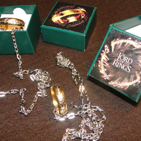 anillo - señor de los anillos - anillo unico - frodo - lotr