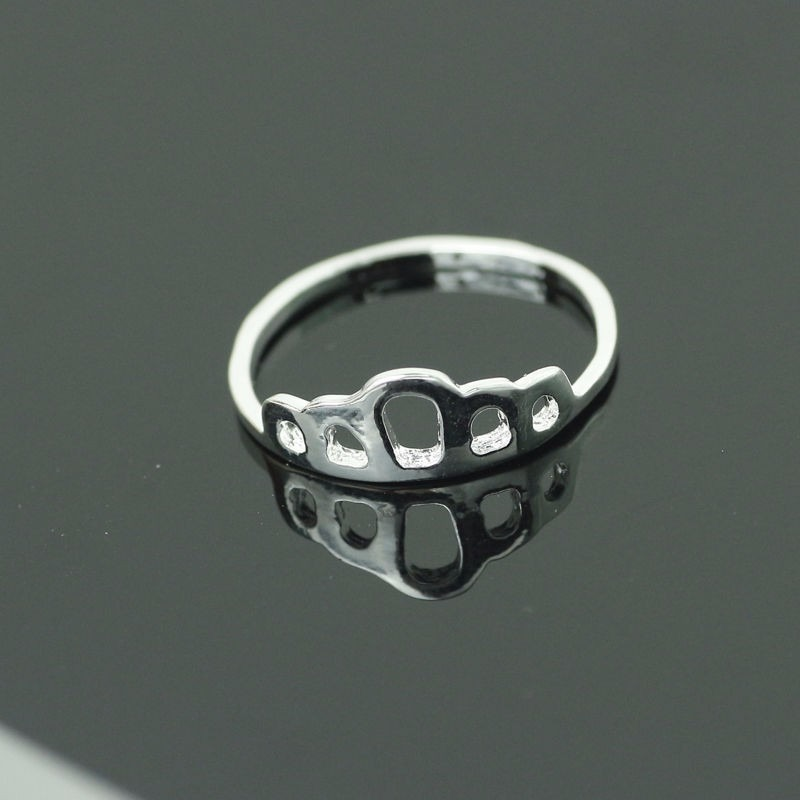 2fd57f0df605 Anillo Simple Corona Rey Reina Retro Plata -   1.890 en Mercado Libre