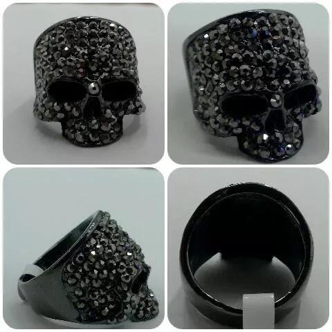 anillo skull calavera antrax punisher circonias
