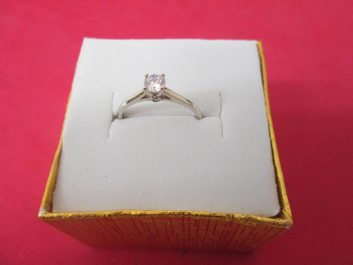 0c2c85f7be00 anillo solitario compromiso oro 10 k oro blanco o amarillo. Cargando zoom.