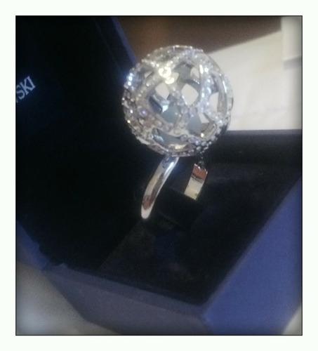 anillo swarovski original espectacular!!!