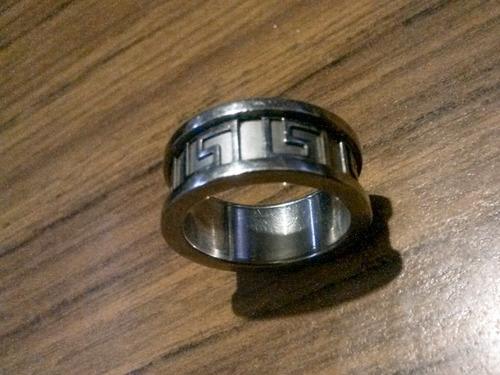 anillo swatch acero inoxidable