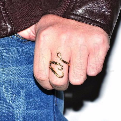 anillo tentaculos pulpo acero inoxidable 316l