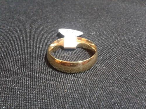 anillo titanio ac. inox. 6mm del #8 a-50