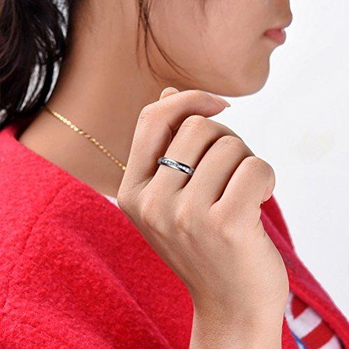 anillo titanio joyería