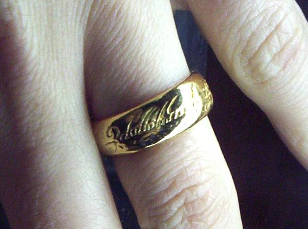 El anillo en el hobbit