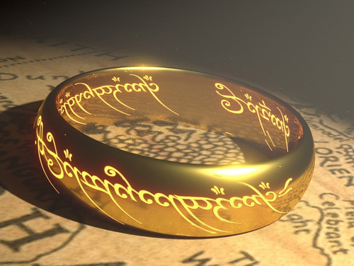 anillo unico frodo hobbit gollum señor de los anillos lotr