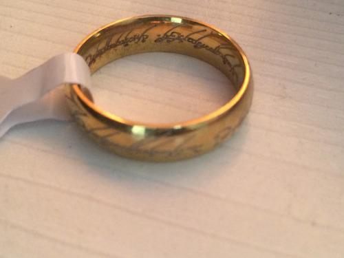 anillo unico lord of the ring el señor de los anillos