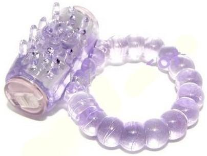 anillo vibrador desechable 100% estrechable unitalla silicón