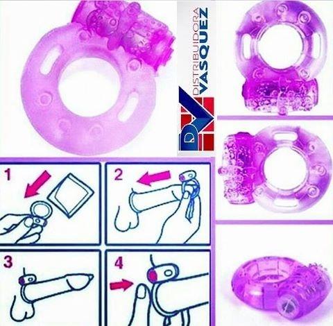 anillo vibrador - juguete sexual - estimulador de placer
