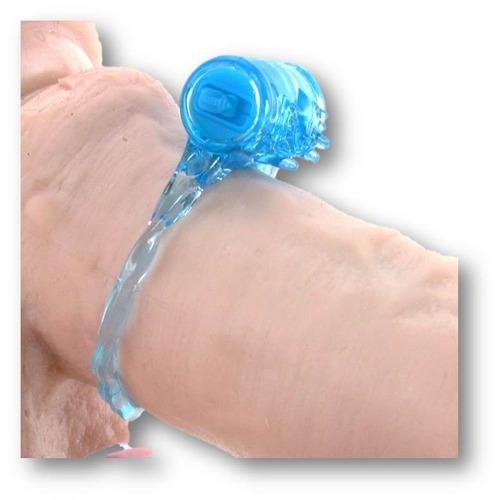 anillo vibrador silicon retardante y estimulante de clitoris