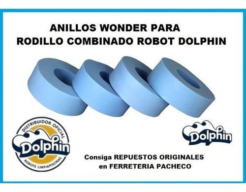 anillo wonder repuesto robot dolphin rodillo combinado x uni