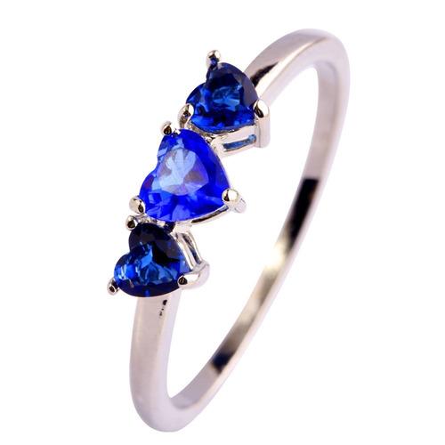 anillo zafiro