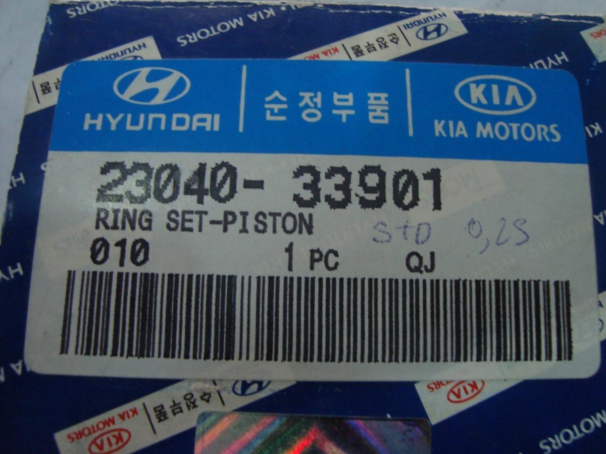 Genuine Hyundai 23040-33901 Piston Ring Set