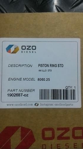 anillos 104mm iveco fiat 8060 tractor 130-90 y 8060.05 25