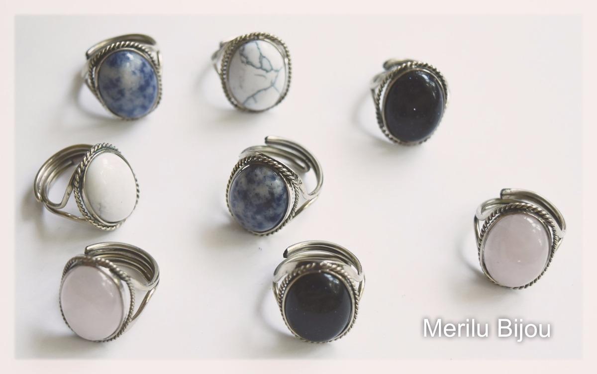 31449527e7671 anillos alpaca con piedras legítimas x mayor 10u. Cargando zoom.